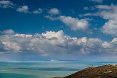 Looking towards the Isle of Purbeck - DSCF8326 (s0ulsurfing) Tags: nature coast fuji natural coastal april fujifilm coastline isle wight purbeck 2016 s0ulsurfing xt1