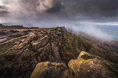 April Showers (Dave Fieldhouse Photography) Tags: theroaches ridge staffordshire staffordshirelife staffordshiremoorlands peakdistrict nationalpark clouds weather rocks landscapes landscape morning mist lpoty lpoty2016 takeaview commended landscapephotographeroftheyear