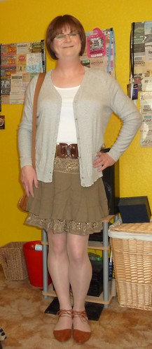 New cardie and shoes ....