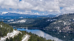 Donner Pass 2  Barry Blanchard.jpg (BarryB.) Tags: road snow mountains aerialphotography dji x5r inspirepro