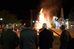 (Psinthos.Net) Tags: people church night easter fire spring woods april christianity custom orthodox humans  resurection believers ohen   orthodoxeaster   psinthos               2016