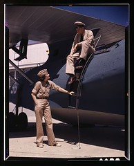 Mrs. Eloise J. Ellis, senior supervisor in the Assembly and Repairs Dept. of the Naval Air Base, talking with one of the men, Corpus Christi, Texas 1942 [1024x827] #HistoryPorn #history #retro http://ift.tt/1NP4HZD (Histolines) Tags: men history senior one j texas with ellis air retro timeline 1942 christi talking naval mrs corpus base eloise supervisor repairs dept assembly vinatage historyporn histolines 1024x827 httpifttt1np4hzd