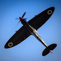 Supermarine Spitfire LF.MK.IXe. The Black Spitfire 57.  Nir Ben-Yosef (xnir) (xnir) Tags:  black israel force air spitfire 57 nir the supermarine benyosef xnir lfmkixe