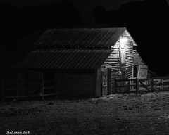 The Barn (that_damn_duck) Tags: bw architecture night barn blackwhite unitedstates farm southcarolina