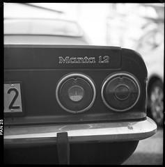 (Manta My Dear) (Robbie McIntosh) Tags: blackandwhite bw 120 6x6 tlr film monochrome car rolleiflex mediumformat square classiccar kodak hc110 negative 25 pan manta opel dyi pellicola selfdevelopment mittelformat adox moyenformat filmisnotdead medioformato rolleiflex28e opelmanta homedevelopment carlzeissplanar80mmf28 rolleiflex28e2 kodakhc110dilb adoxpan25 rolleiflexplanar28e opelmanta12s opelmanta12