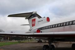 IMG_1218 (routemaster2217) Tags: bea aircraft aeroplane duxford airliner imperialwarmuseum iwm turbofan britisheuropeanairways gavfb rollsroycespey hawkersiddeleytridenttwo