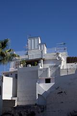 Escher (apfelbla) Tags: sky abstract building wall spain wand himmel gebude spanien abstrakt