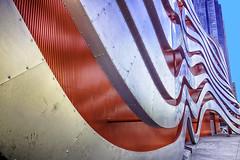 Peterson Automotive Museum Building (Culture Shlock) Tags: auto california color building cars car museum architecture buildings losangeles colorful structures structure autos automobiles petersonautomotivemuseum