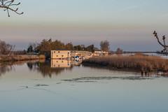 RHM_0744.jpg (RHMImages) Tags: california sunset reflection water landscape us nikon unitedstates delta powerlines brentwood boathouse hollandtract d810 knightsen