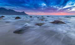 Washed Away (Bryn De Kocks) Tags: ocean africa sunset sea sky mountain seascape water beautiful clouds landscape southafrica rocks capetown waterscape sigma1020mm kogelbay canon70d