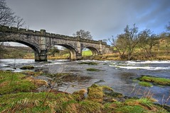 bridge near bolton abbey, england (haywardk49) Tags: uk bridge trees winter england sky water grass stone clouds river landscape nikon rocks raw nef yorkshire tripod north wideangle d750 jpg 20mm fullframe northyorkshire boltonabbey waterscape