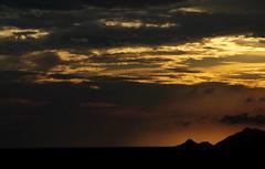Sunset Mountain 1 (Fabio Sola Penna) Tags: sunset orange sun mountain rio de nice janeiro da barra tijuca beaultiful