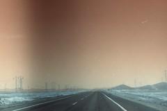 (vlΛиco iиvierиo) Tags: chile 35mm landscape lomo highway desert turquoise atacama m42 desierto zenit 122 turquesa