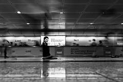 Singapore (ale neri) Tags: street longexposure urban blackandwhite bw motion subway singapore metro streetphotography aleneri alessandroneri
