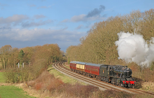 LMS 8F 48624 - Kinchley lane