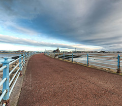 On the Stone Jetty at Morecambe (kenemm99) Tags: winter sky cloud canon pier cep morecambebay 5dmk3