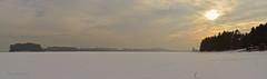 Przeczyce - panorama (ChemiQ81) Tags: winter panorama outdoor poland polska polish basin polen zima polonia garb pologne  polsko  puola plland lenkija pollando   poola poljska polija pholainn  siewierz zagbie dbrowskie przeczyce     tarnogrski chemiq dabrova polanya lengyelorszgban