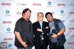 CAAMFest 2016 Launch Party at Mercer | Executive Director Stephen Gong with CAAMFest Photographers (diginmag) Tags: sanfrancisco party mercer launchparty caamfest2016