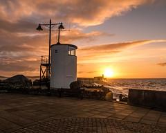 Porthcawl Dawn (EVO GT) Tags: lighthouse southwales wales sunrise canon dawn lighthouses porthcawl canong5x canonpowershotg5x