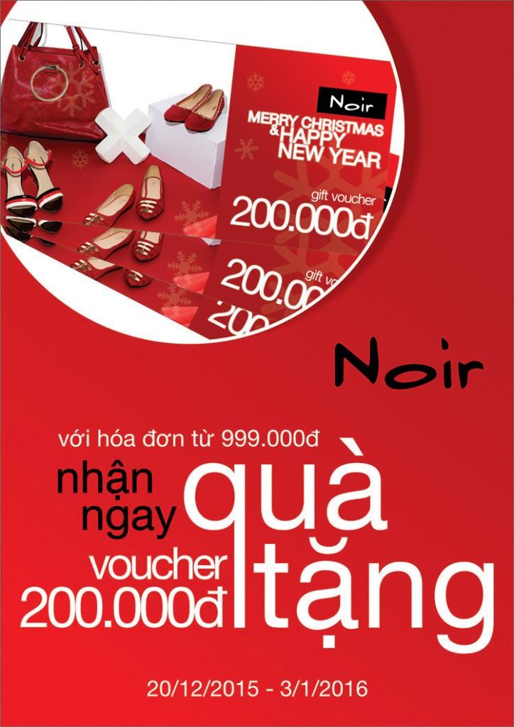 Noir – Chúc Mừng Giáng Sinh và Năm Mới 2016