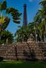 Paris and Indonesia (Linus Wärn) Tags: china asia eiffeltower palmtrees guangdong shenzhen themepark borobudur windowoftheworld