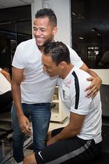 (Santos Futebol Clube) Tags: ct santos fc rei despedida 2016 pel geuvnio