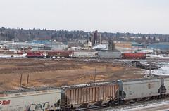 DLCX 1202 at Moose Jaw (railroadcndr) Tags: railroad canada yard train switch track tracks engine railway locomotive canadianpacific saskatchewan cp cpr freight moosejaw sw1200 dlcx cpmoosejaw cpswiftcurrentsub cpoutlooksub dlcx1202