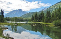 Bearpaw Lake, Grand Teton National Park (wldrns) Tags: hiking wyoming grandtetonnationalpark leighlake bearpawlake