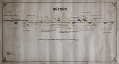 Roydon (P Way Owen) Tags: diagram signalbox roydon