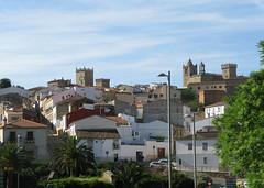 Blick auf Cceres (pilgerbilder) Tags: pilgern pilgerfahrt pilgertagebuch vadellaplata aldeadelcanocceres