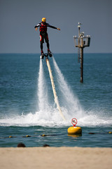 (ietion) Tags: beach water sport dubai jet jumeira jetpack