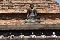 _GRL7595 (TC Yuen) Tags: architecture thailand ruins asia southeastasia buddha unesco worldheritage norththailand ancientcapital