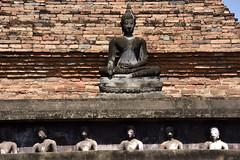 _GRL7595 (TC Yuen) Tags: architecture thailand ruins asia southeastasia buddha unesco worldheritage norththailand ancientcapital