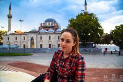 Istanbul, Turkey (Zakapi0r) Tags: travel portrait sky woman travelling girl clouds canon turkey square eos travels october asia europa europe university 5 naturallight istanbul mosque traveller di mk2 5d tamron f28 mkii markii mark2 2015 turcja 2875 mrzphotography