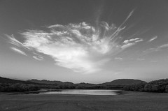 Salina Cruz, 2015 (Exit Imago) Tags: ocean sunset sky blackandwhite bw cloud beach weather mexico dusk lagoon oaxaca salinacruz