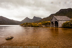 Stormy Day at the Boatshed, Cradle Mountain-Lake St Clair National Park, Tasmania, Australia (edleckert) Tags: sky mountain lake color horizontal outdoors photography spring overcast australia nopeople tasmania boathouse cradlemountain centralhighlands standingwater tasmanianwildernessworldheritagearea transportationbuilding canoneos5dmarkii dovelakecircuit cradlemtlakestclairnationalpark