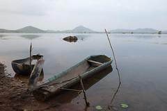 Self Made Boat (fredMin) Tags: travel lake boat cambodia fuji fujifilm kampot xt1