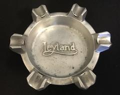 Leyland ashtray (South Strand Trucking) Tags: vintage advertising british aluminium leylandlorry