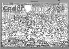 Cade a dana dos vampiros rafe fornet (Flvio!) Tags: revista infantil ilustrao vampiros desenho recreio rafe cad rascunho