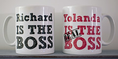 March 1st 2016 - Project 366 (Richard Amor Allan) Tags: ceramic mugs funny mug ironic project366