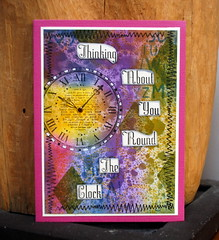 20160318 workshop Marina Clockwork 1 (Decoratie Coudenys - a Lut of stamps (Lut)) Tags: marina workshop distress heroarts adirondack stampotique alutofstamps dylusions