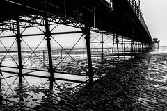 Southport Pier mono (tabulator_1) Tags: blackwhite southport southportpier elementsexhibition