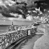Only This Way... (sebistaen) Tags: sea sky lighthouse white black boat flickr gibraltar afterrain europapoint sébastienlemercier canoneos7dmarkii sebistaen