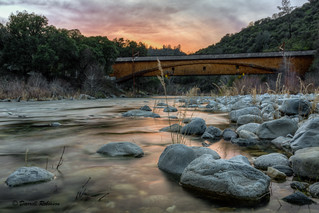 South Yuba River Sunset