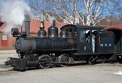 Winter Steam in Maine - Monson 3 (jterry618) Tags: train portland us unitedstates maine steamengine steamtrain steamlocomotive trainride 2footgauge monsonrailroad mainenarrowgaugerailroadmuseum