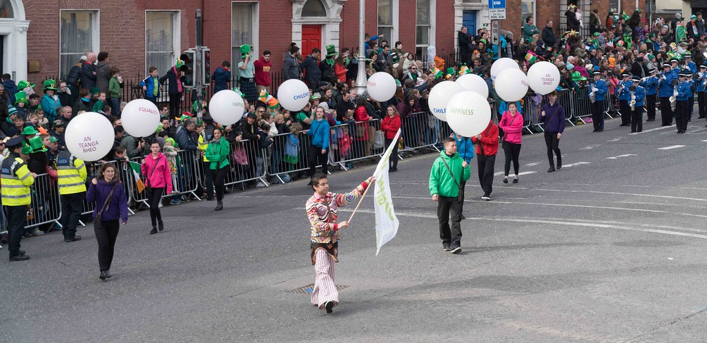 ESSEX MARCHING CORPS FROM THE UK [ST. PATRICK'S PARADE DUBLIN 2016]-112618