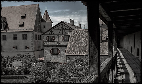 Schloss-Burg Harburg im Altmühltal
