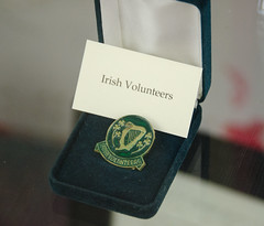 Lapel Pin of the Irish Volunteers, Precursor to the IRA