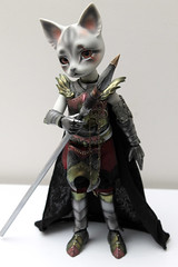 Pipos a.Derek (Damasquerade) Tags: cat grey skin derek armor knight bjd resin armour midsummernightsdream pipos aderek