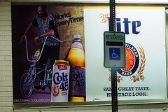 It's Waiting For You (raymondclarkeimages) Tags: beer sign poster lite photography photographer outdoor parking beverage olympus advertisement miller maltliquor brew reserved snoop millerlite 40oz snoopdogg colt45 rci 24oz handicapparking imageof mirrorless pictureof picof 1240mm28 em5mk2